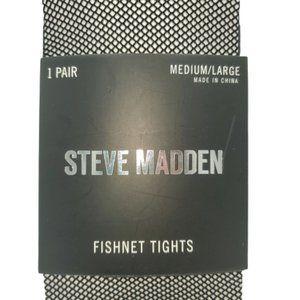 Steve Madden NWT Fishnet Tights Size M/L